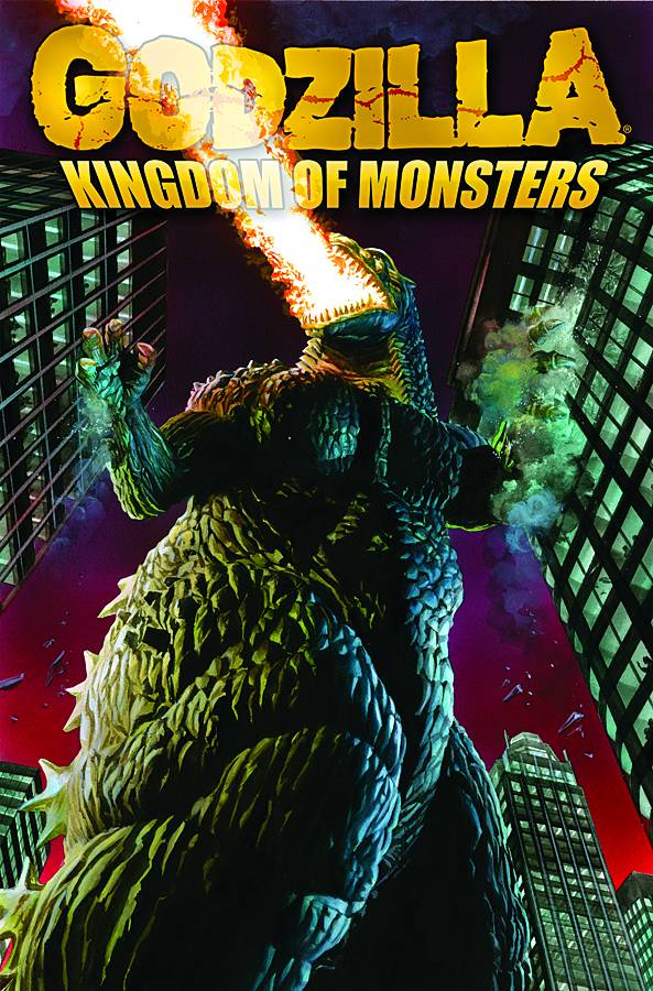 GODZILLA KINGDOM OF MONSTERS TP VOL 01 PRE-ORDER 15/05/19 VF/NM IDW