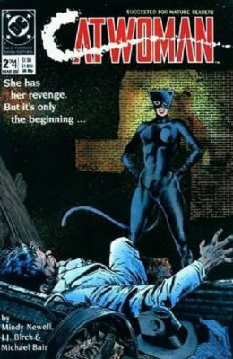 CATWOMAN #2 (1989) VF DC