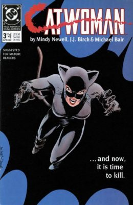 CATWOMAN #3 (1989) VF- DC
