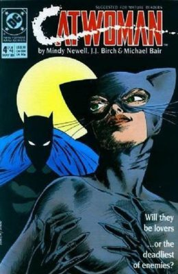 CATWOMAN #4 (1989) VF- DC