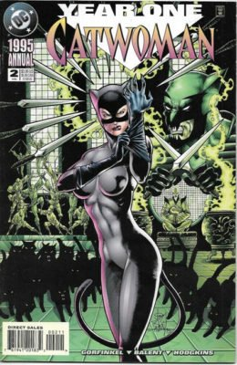 CATWOMAN ANNUAL #2 (1993) VF- DC