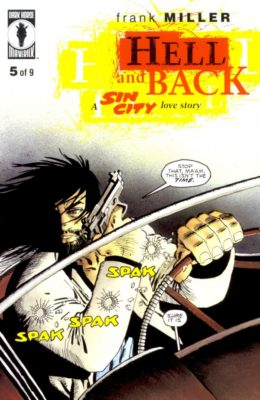 SIN CITY: HELL AND BACK #5 (1999) VF DARK HORSE