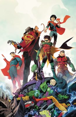 ADVENTURES OF THE SUPER SONS #12 (OF 12) PRE-ORDER 03/07/19 VF/NM DC