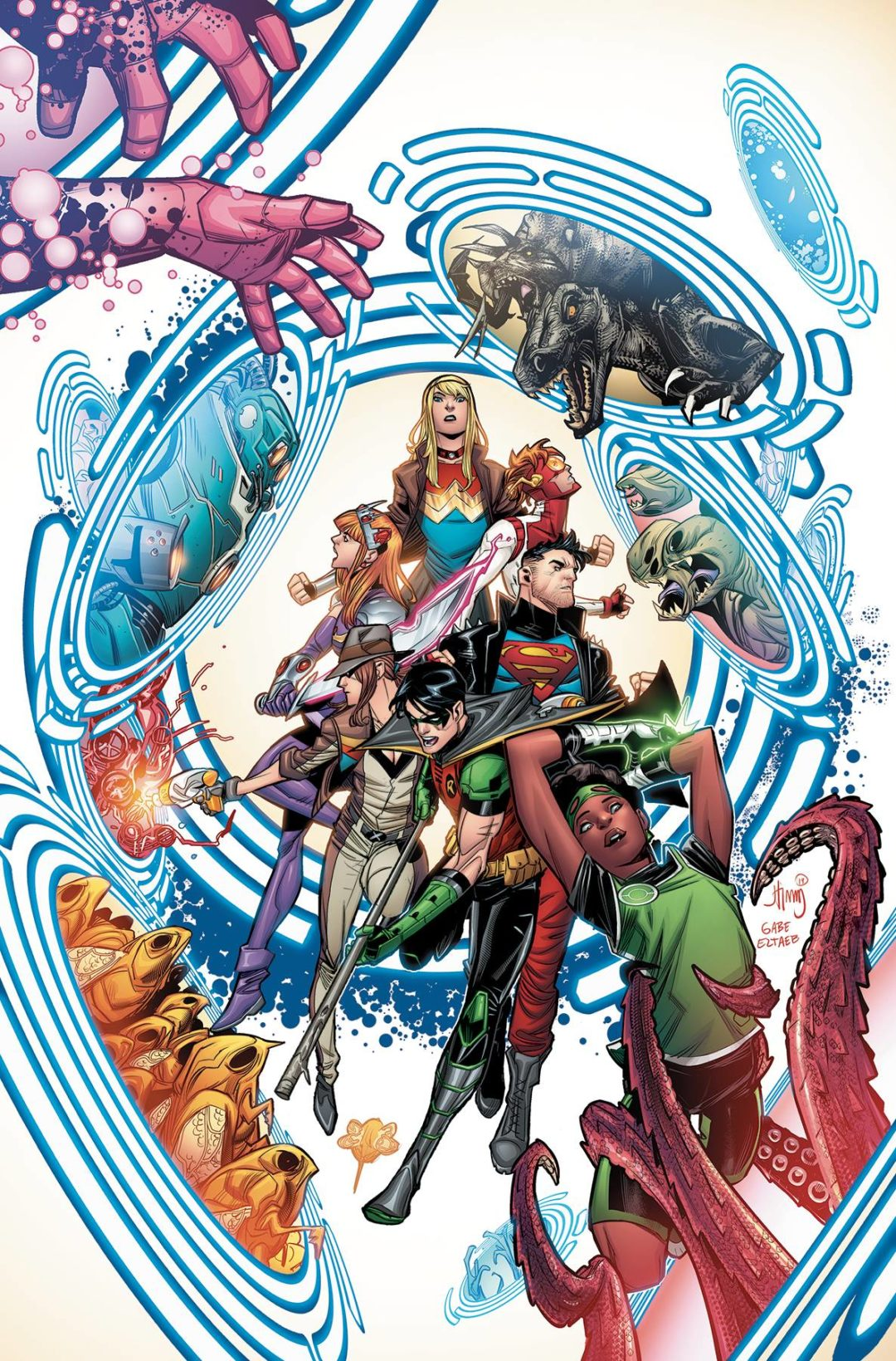 YOUNG JUSTICE #7 PRE-ORDER 03/07/19 VF/NM DC