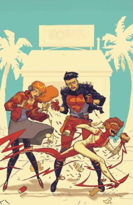 YOUNG JUSTICE #7 VAR ED PRE-ORDER 03/07/19 VF/NM DC