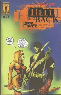 SIN CITY: HELL AND BACK #9 (1999) VF DARK HORSE