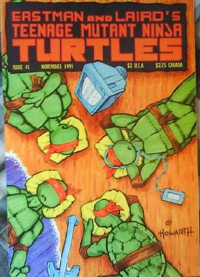 TEENAGE MUTANT NINJA TURTLES #41 (1984) VF MIRAGE STUDIOS