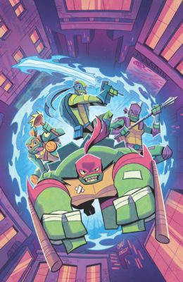 TMNT RISE OF TMNT SOUND OFF #3 (OF 3) CVR A THOMAS PRE-ORDER 04/09/19 VF/NM MARVEL