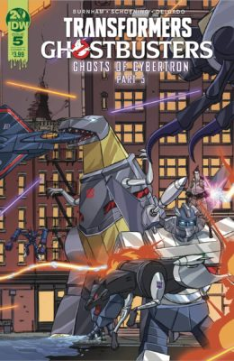 TRANSFORMERS GHOSTBUSTERS #5 (OF 5) CVR A PRE-ORDER 16/10/19 VF/NM IDW