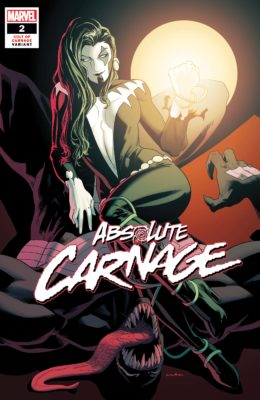 ABSOLUTE CARNAGE #2 1:25 ANKA CULT OF CARNAGE VARIANT (2019) VF/NM MARVEL