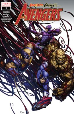 ABSOLUTE CARNAGE: AVENGERS #1 (2019) VF/NM MARVEL