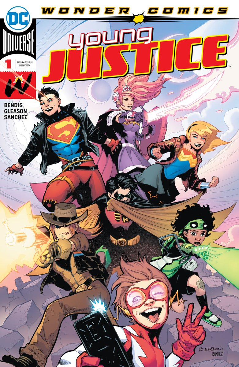 YOUNG JUSTICE #1 (2019) VF/NM DC