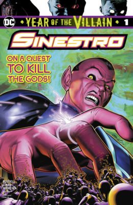 YEAR OF THE VILLAIN SINESTRO #1 (2019) VF/NM DC