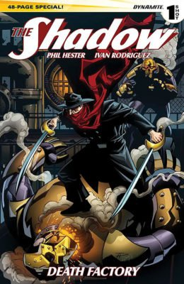 THE SHADOW SPECIAL 2014: DEATH FACTORY #1 (2014) VF/NM DYNAMITE