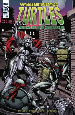 TMNT URBAN LEGENDS #23 CVR A FOSCO PRE-ORDER 04/03/20 VF/NM IDW