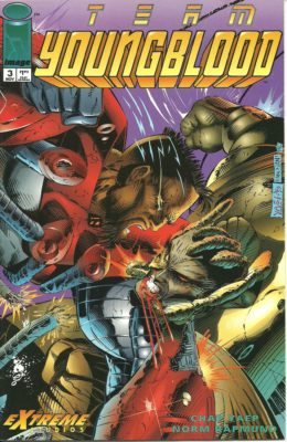 TEAM YOUNGBLOOOD #3 (1993) VF/NM IMAGE
