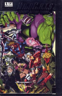 WILDC.A.T.S SOURCEBOOK #1 (1993) VF/NM IMAGE
