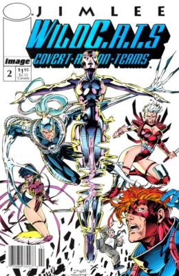 WILDC.A.T.S #2 (1992) VF/NM IMAGE