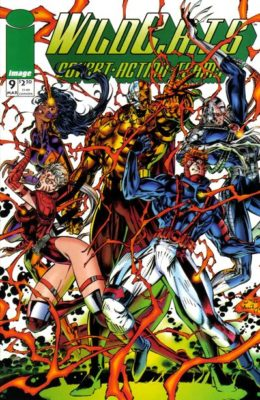 WILDC.A.T.S #9 (1992) VF/NM IMAGE
