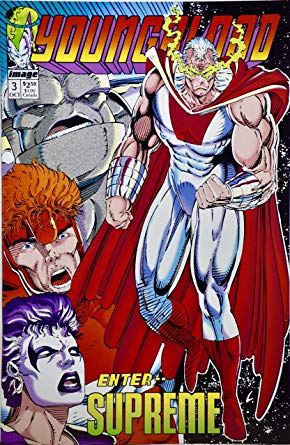 YOUNGBLOOD #3 ENTER SUPREME (1992) VF/NM IMAGE