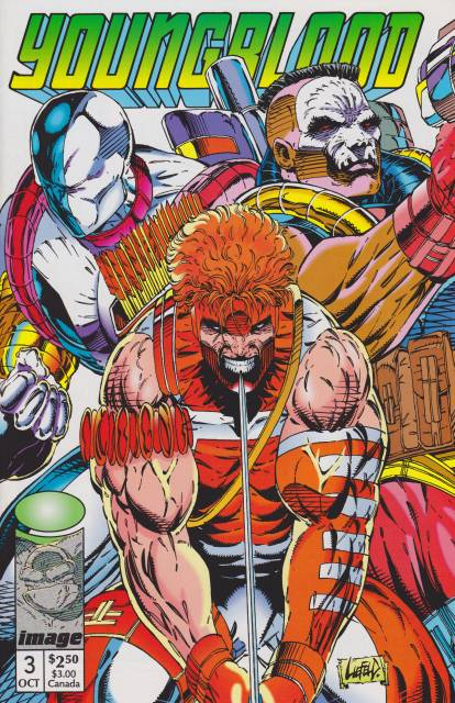 YOUNGBLOOD #3 (1992) VF/NM IMAGE