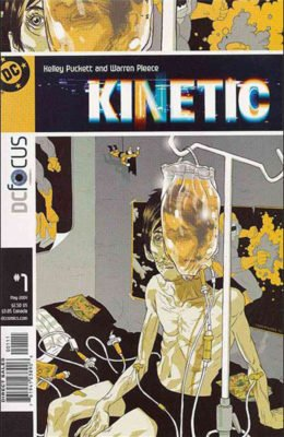 KINETIC #1 (2004) VF DC
