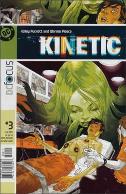 KINETIC #3 (2004) VF DC