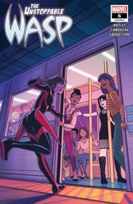 THE UNSTOPPABLE WASP #6 (2018) VF/NM MARVEL