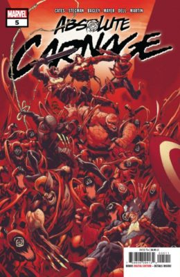 ABSOLUTE CARNAGE #5 (2019) VF MARVEL