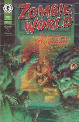 ZOMBIE WORLD HOME FOR THE HOLIDAYS ONE-SHOT (1997) DARK HORSE