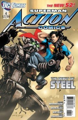 ACTION COMICS #4 (2011) VF/NM DC