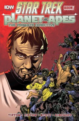 STAR TREK/PLANET OF THE APES: THE PRIMATE DIRECTIVE #4 (2015) VF/NM IDW