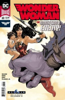 WONDER WOMAN #60 (2016) VF DC