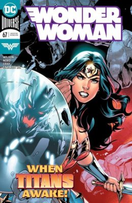 WONDER WOMAN #67 (2016) VF DC