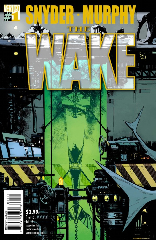 THE WAKE #1 (2013) VF/NM VERTIGO
