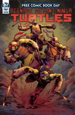TEENAGE MUTANT NINJA TURTLES: CASUALTY OF WAR - FCBD (2019) VF/NM IDW