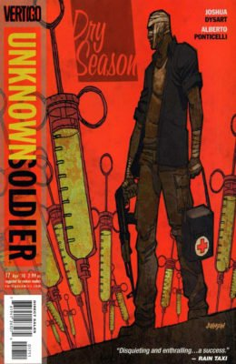 UNKNOWN SOLDIER #17 (2008) VF/NM VERTIGO