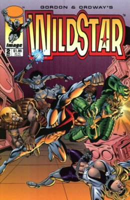 WILDSTAR: SKY ZERO #2 (1993) VF/NM IMAGE