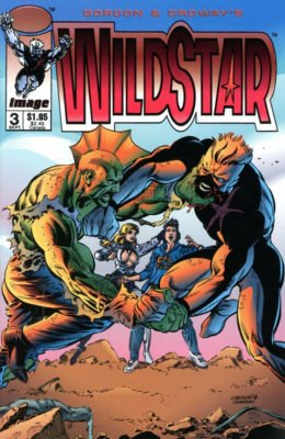 WILDSTAR: SKY ZERO #3 (1993) VF/NM IMAGE