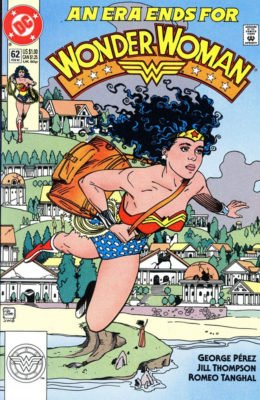 WONDER WOMAN #62 (1987) VF DC