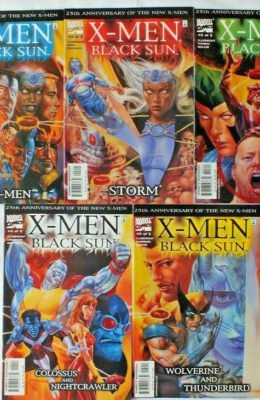 X-MEN: BLACK SUN #1-5 COMPLETE SET (2000) VF MARVEL