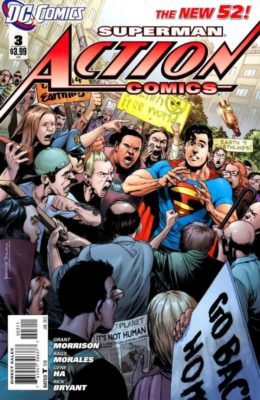 ACTION COMICS #3 (2011) VF/NM DC