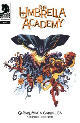 THE UMBRELLA ACADEMY: HOTEL OBLIVION #5 (2018) VF/NM DARK HORSE