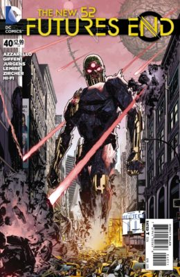 THE NEW 52: FUTURE'S END #40 (2014) VF/NM DC