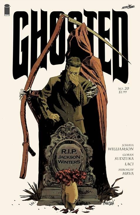 GHOSTED #20 (2013) VF/NM IMAGE