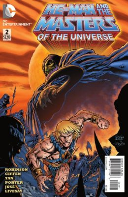 HE-MAN AND THE MASTERS OF THE UNIVERSE #2 (2012) VF/NM DC