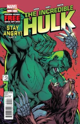 THE INCREDIBLE HULK #10 (2011) VF/NM MARVEL