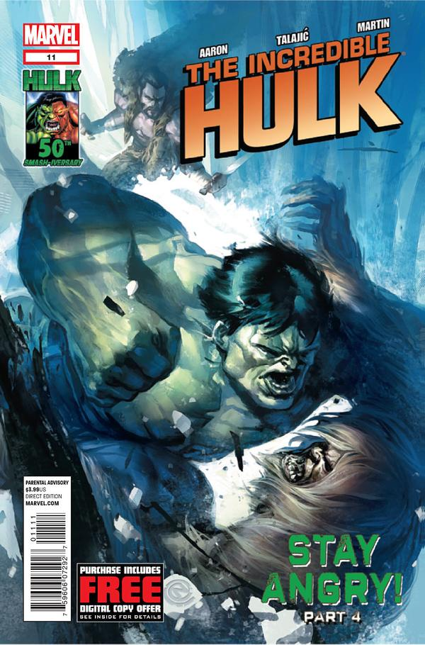 THE INCREDIBLE HULK #11 (2011) VF/NM MARVEL