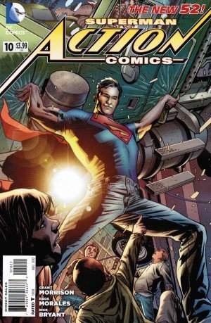 ACTION COMICS #10 VARIANT EDITION (2011) VF/NM DC