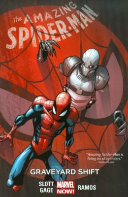 THE AMAZING SPIDER-MAN VOL. 4: GRAVEYARD SHIFT TP (2015) MARVEL